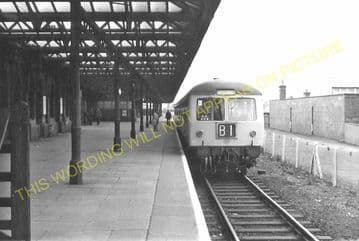 Leicester Central Railway Station Photo. Great Central Railway. (13)