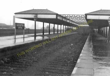 Leicester Central Railway Station Photo. Great Central Railway. (15)