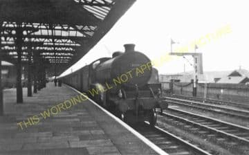 Leicester Central Railway Station Photo. Great Central Railway. (6)