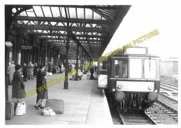 Leicester Central Railway Station Photo. Great Central Railway. (9)