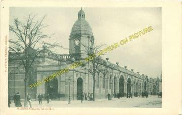 Leicester London Road Railway Station Photo. Midland Railway. (16)