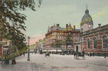 Leicester London Road Railway Station Photo. Midland Railway. (28)