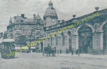 Leicester London Road Railway Station Photo. Midland Railway. (31)
