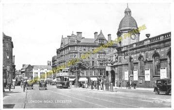 Leicester London Road Railway Station Photo. Midland Railway. (6)
