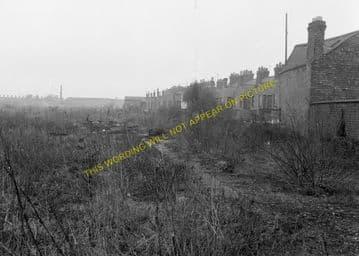 Leicester West Bridge Railway Station Photo. Glenfield Line. Midland Rly (10)