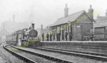 Leicester West Bridge Railway Station Photo. Glenfield Line. Midland Rly (13)