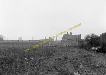 Leicester West Bridge Railway Station Photo. Glenfield Line. Midland Rly (5)