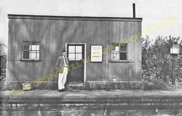 Leire Railway Station Photo. Broughton Astley - Ullesthorpe & Lutterworth. (3)