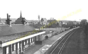 Lennoxtown Railway Station Photo. Milton of Campsie - Strathblane. (1)
