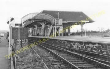 Leuchars Junction Railway Station Photo. Dundee to Guard Bridge & Dairsie. (5).