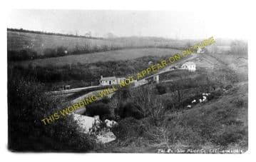 Llan-y-Cefn Railway Station Photo. Clynderwen - Rosebush. Fishguard Line. (1)