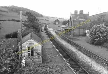 Llanbister Road Railway Station Photo. Llangunllo- Dolau. Knucklas to Builth (5)