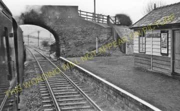 Llanbister Road Railway Station Photo. Llangunllo- Dolau. Knucklas to Builth (7).