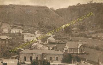 Llandre Railway Station Photo.  Borth - Bow Street. Aberystwyth Line. (3)