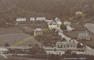 Llandre Railway Station Photo. Borth - Bow Street. Aberystwyth Line. (5).