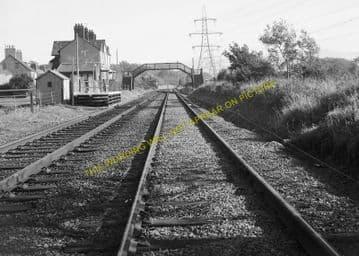 Llanfair Railway Station Photo. Menai Bridge - Gaerwen. Bangor to Holyhead. (13)