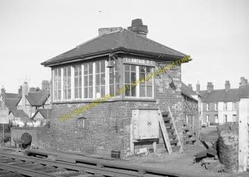 Llanfair Railway Station Photo. Menai Bridge - Gaerwen. Bangor to Holyhead. (15)