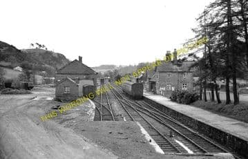 Llanfyllin Railway Station Photo. Bryngwyn and Llanymnech Line. Cambrian Rly (4)