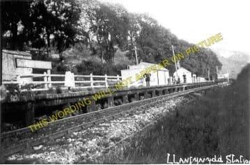 Llanfynydd Railway Station Photo. Ffrith - Coed Talon. Wrexham to Mold Line. (1)
