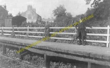 Llanfynydd Railway Station Photo. Ffrith - Coed Talon. Wrexham to Mold Line. (2).