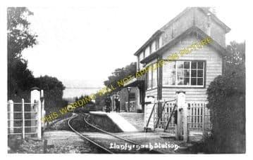 Llanfyrnach Railway Station Photo. Rhydowen- Crymmych Arms. Whitland Line. (3)