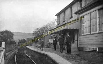 Llanfyrnach Railway Station Photo. Rhydowen- Crymmych Arms. Whitland Line. (7)
