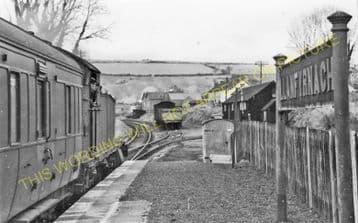 Llanfyrnach Railway Station Photo. Rhydowen- Crymmych Arms. Whitland Line. (8).