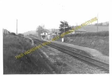 Llangunllo Railway Station Photo. Knucklas - Llanbister Road. Knighton Line. (4)