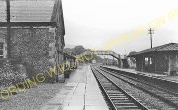 Llanrwst & Trefriw Railway Station Photo. Bettws-y-Coed - Llandudno. L&NWR. (10)