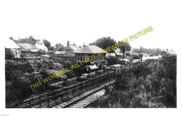 Locharbriggs Railway Station Photo. Dumfries - Amisfield. Lockerbie Line. (1)..