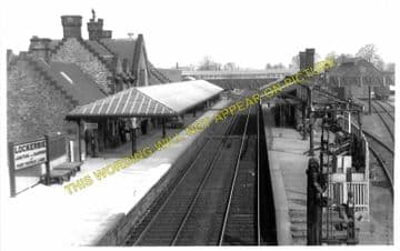 Lockerbie Railway Station Photo. Ecclefechan to Lochmaben and Nethercleugh. (1)..