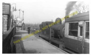 Long Melford Railway Station Photo. Sudbury to Glemsford and Lavenham Lines. (8)