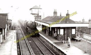 Longniddry Railway Station Photo. Prestonpans to Haddington, Aberlady & Drem (2)