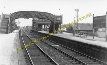 Longniddry Railway Station Photo. Prestonpans to Haddington, Aberlady & Drem. (4)
