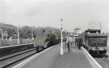 Longniddry Railway Station Photo. Prestonpans to Haddington, Aberlady & Drem. (5).
