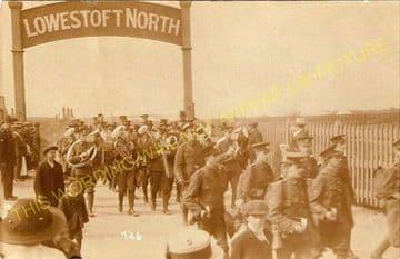 Lowestoft North Railway Station Photo. Corton and Hopton Line. N&S Joint. (11)