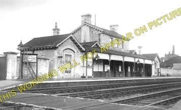Luffenham Railway Station Photo. Ketton to Morcott and Manton Lines. (1)..