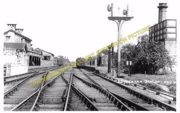 Luffenham Railway Station Photo. Ketton to Morcott and Manton Lines. (4)