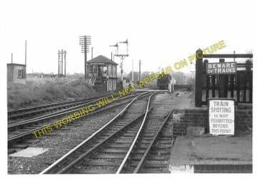 Luffenham Railway Station Photo. Ketton to Morcott and Manton Lines. (9)