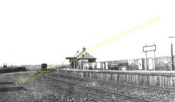 Lybster Railway Station Photo. Ulbster and Wick Line. Highland Railway. (11)