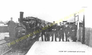 Lybster Railway Station Photo. Ulbster and Wick Line. Highland Railway. (4)