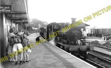 Lyme Regis Railway Station Photo. Combpyne and Axminster Line. L&SWR (2)