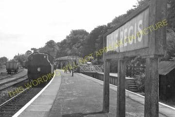 Lyme Regis Railway Station Photo. Combpyne and Axminster Line. L&SWR (24)