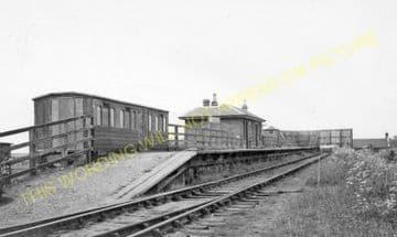 Macmerry Railway Station Photo. Winton and Ormiston Line.North British Rly. (1)..