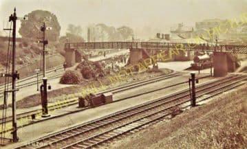 Manton Railway Station Photo. Oakham to Luffenham and Harringworth Lines. (12)