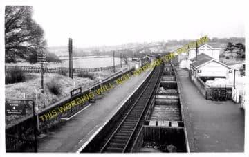 Manton Railway Station Photo. Oakham to Luffenham and Harringworth Lines. (2)