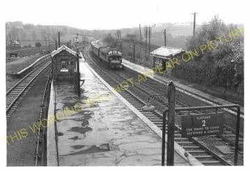 Manton Railway Station Photo. Oakham to Luffenham and Harringworth Lines. (4)