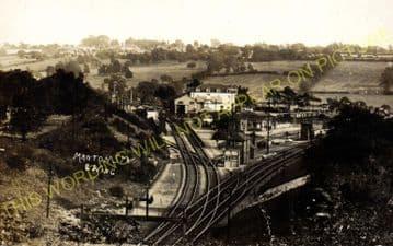 Manton Railway Station Photo. Oakham to Luffenham and Harringworth Lines. (6)