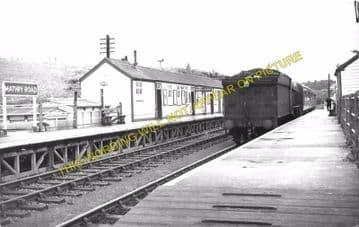 Mathry Road Railway Station Photo. Wolfs Castle - Jordanston. Fishguard Line (3)