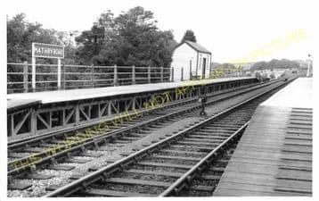 Mathry Road Railway Station Photo. Wolfs Castle - Jordanston. Fishguard Line (5)